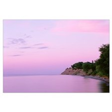 New York, Sodus Bay, Chimney Bluffs State Park, La