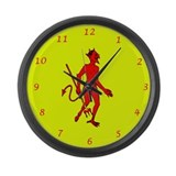 Diablo: Large Wall Clock