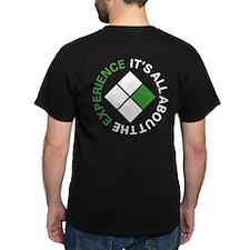 SILV Experience Men's Black T-Shirt