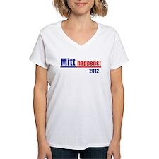 """Mitt Romney """"Mitt Happens"""" -Shirt"""