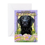 Easter Egg Cookies - Labrador Greeting Card
