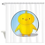 Whee! Chick v2.0 Shower Curtain