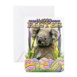 Easter Egg Cookies - Koala Greeting Card