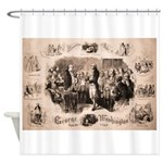 Brother George Shower Curtain