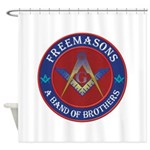 Masonic Band of Brothers Shower Curtain