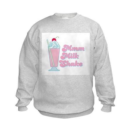 Strawberry Milkshake Kids Sweatshirt
