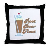 Rootbeer Float Throw Pillow