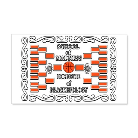 Doctorate of Bracketology 22x14 Wall Peel