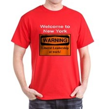 Warning: NY Leadership Black T-Shirt