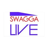 SWAGGA LIVE 38.5 x 24.5 Wall Peel