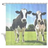 Holstein Cows Shower Curtain