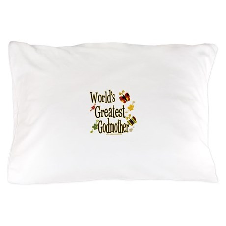 Godmother Butterflies Pillow Case
