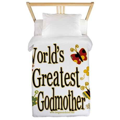 Godmother Butterflies Twin Duvet