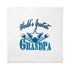 Greatest Grandpa Queen Duvet