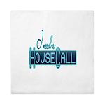 house call Queen Duvet