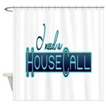 house call Shower Curtain