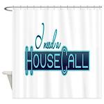 house call Shower Curtain