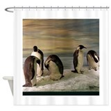 Penguins Shower Curtain