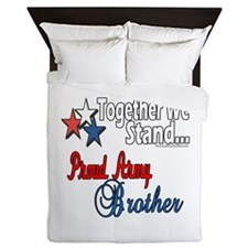 Army Brother Queen Duvet