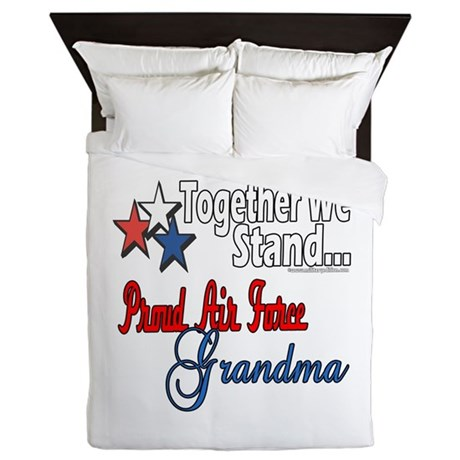 Air Force Grandma Queen Duvet