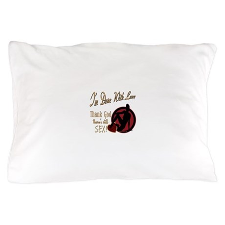 Let's Talk About Sex Series Pillow Case
