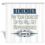 Repossessed Shower Curtain