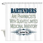 Bartenders Shower Curtain