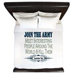Join The Army King Duvet