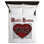 World's Best Snuggler Queen Duvet