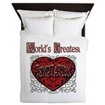 World's Best Temptation Queen Duvet