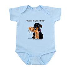 Guard Dog Doberman Infant Bodysuit