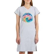 Mt. Rainier Old Circle Women's Nightshirt