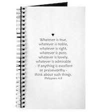 PHILIPPIANS 4:8 Journal