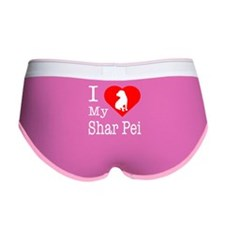 I Love My Shar Pei Women's Boy Brief