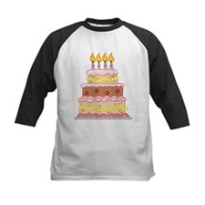 4th Birthday Cake Gift Tee