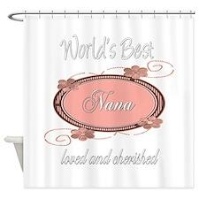 Cherished Nana Shower Curtain