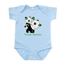 Personalized Irish Panda Infant Bodysuit