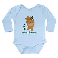 Personalized Irish Bears Long Sleeve Infant Bodysu