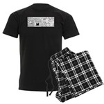 First Class Men's Dark Pajamas