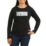 First Class Women's Long Sleeve Dark T-Shirt