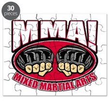 MMA Mixed Martial Arts Puzzle