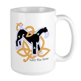 Celtic Kerry Blue Terrier Mug