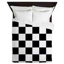 Checkerboard Queen Duvet