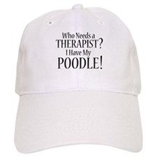 THERAPIST Poodle Baseball Cap