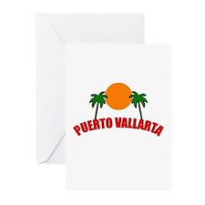 Funny Puerto vallarta Greeting Cards (Pk of 10)