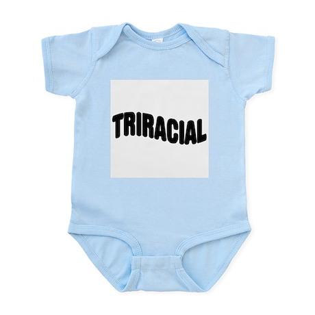 Triracial/ Multiracial Pride Infant Creeper