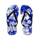 Cute Hawaii flowers Flip Flops