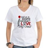 I Hold On To Hope Brain Tumor Shirt