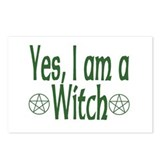 Yes, I am a Witch Postcards (Package of 8)
