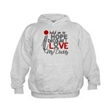 I Hold On To Hope Brain Tumor Hoody